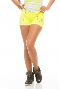 Pantaloni Scurti Mexton Motion Yellow