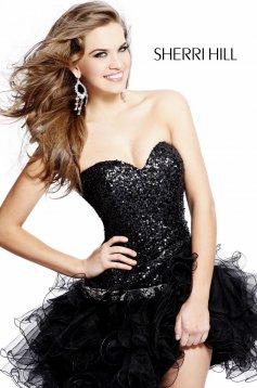 Rochie Sherri Hill Stunning Black