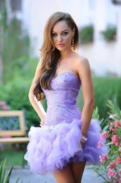 Rochie Sherri Hill Stunning Purple