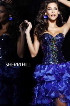 Rochie Sherri Hill 2920 Purple