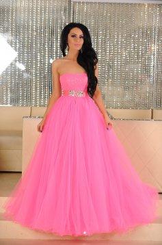 Rochie Sherri Hill Sparkling Treasure Pink