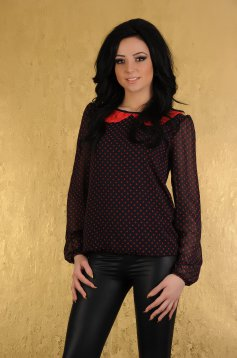 Bluza LaDonna Delicious Dots Red