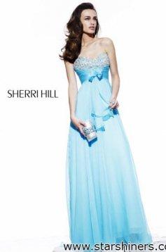 Rochie Sherri Hill 2873 LightBlue