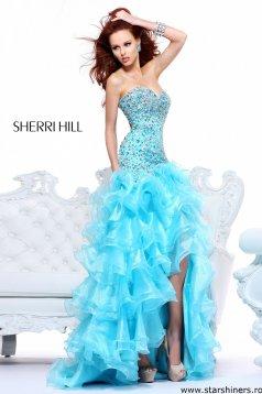 Rochie Sherri Hill 21127 Aqua