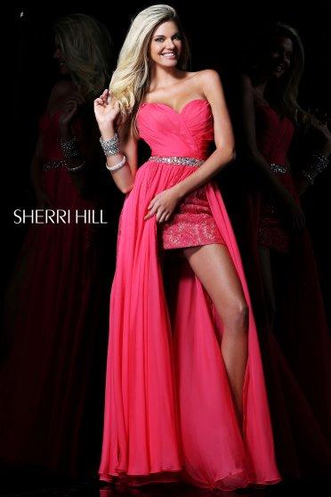 Rochie Sherri Hill 1570 Pink