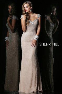 Rochie Sherri Hill 1541 Nude
