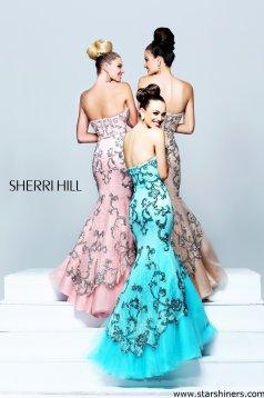 Rochie Sherri Hill 21058 Rosa