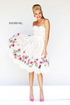 Rochie Sherri Hill 21229 Pink