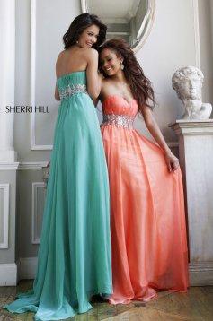 Rochie Sherri Hill 3909 Orange