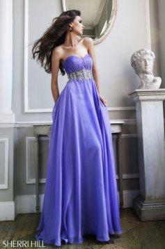 Rochie Sherri Hill 3909 Purple