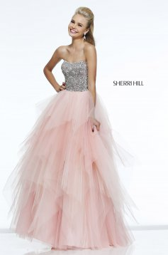 Rochie Sherri Hill 11085 Pink