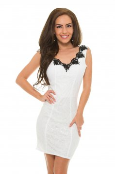 Rochie LaDonna Perfect Candy White