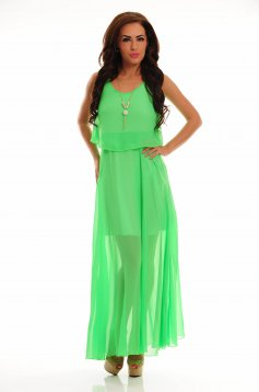 Rochie LaDonna Flawless Waves Green