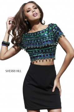 Set Sherri Hill 32040 Black