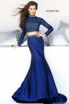 Set Sherri Hill 32044 DarkBlue