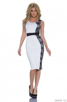 Rochie Young Delicacy White