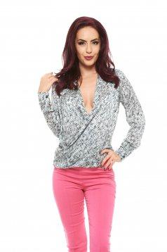 Bluza PrettyGirl Printed Grey