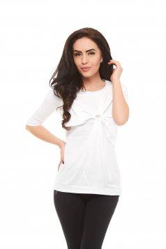 Bluza Artista Middle Ribbon White