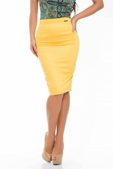 Fusta PrettyGirl Priceless Yellow