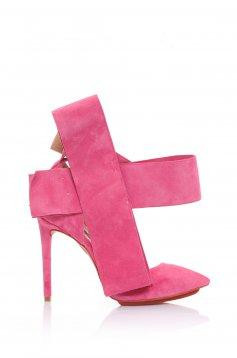 Pantofi Mineli Boutique Din Piele Naturala Magical Pink
