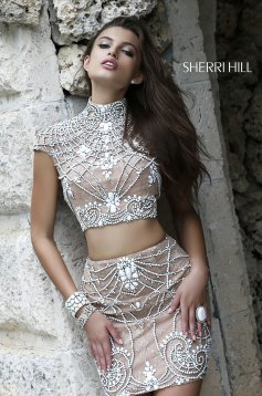 Set Sherri Hill 11174 White