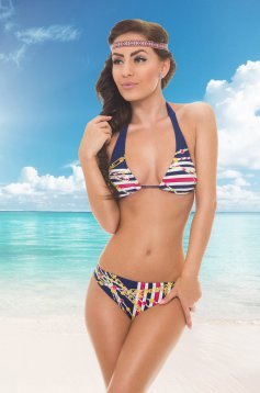 Costum De Baie Hot Chains DarkBlue