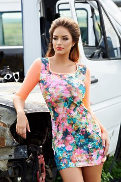 Rochie MissQ Still Nature Orange