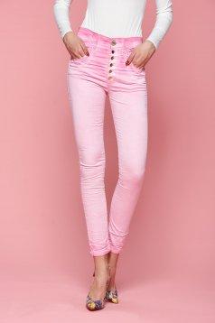 Pantaloni MissQ Lower Hips Pink
