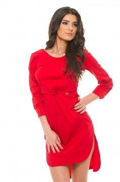Rochie PrettyGirl Day Out Red