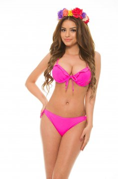 Costum De Baie Happy Frills Pink
