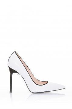 Pantofi Mineli Boutique Engaged White