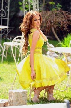 Rochie PrettyGirl Burning Yellow