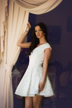 Rochie Artista Lovely Shade White