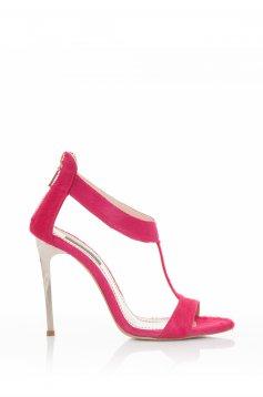 Sandale Mineli Boutique Din Piele Naturala Sensational Pink