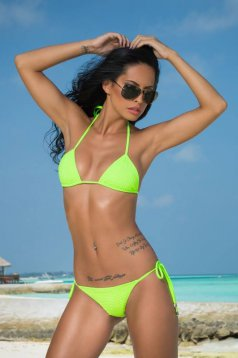Costum De Baie Mexton Dreamful Island Green