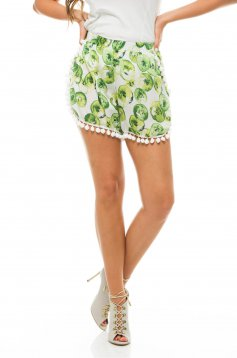 Pantaloni Scurti PrettyGirl Dispatch Green