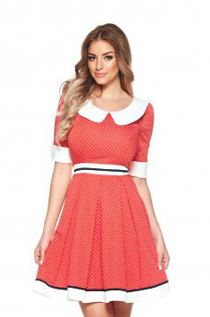 Rochie Fofy Romantic Times Red