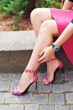 Sandale Mineli Boutique Din Piele Naturala Magnific Pink