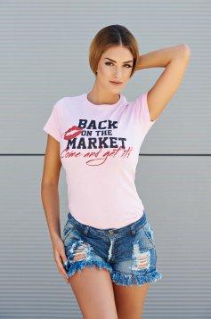 Tricou Seductive Market Rosa