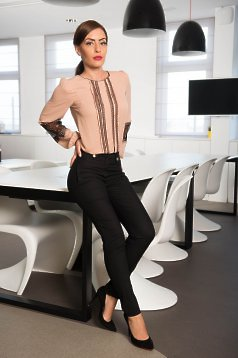Pantaloni LaDonna Office Attempt Black