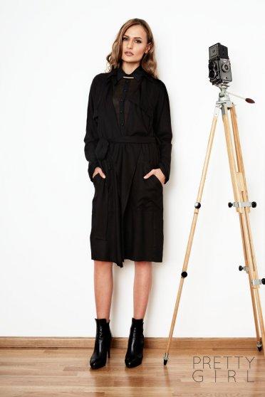 Trench Prettygirl Desired Black