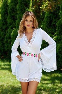 Salopeta Mexton Elegant Wear White