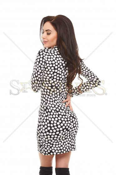 Rochie MissQ Dotted Effect White