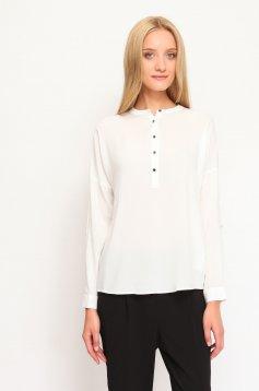 Bluza Top Secret Clear Buttons White