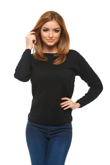 Pulover Top Secret First Persuasion Black