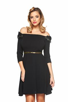 Rochie StarShinerS Fully Treasure Black