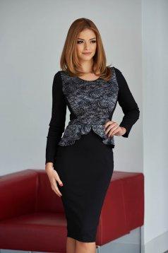 Rochie StarShinerS Present Grey