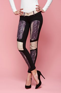 Pantaloni Ocassion Precious Taste Black