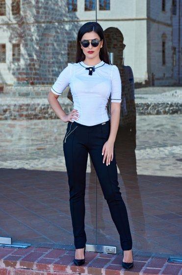 Pantaloni Prettygirl Operative Black
