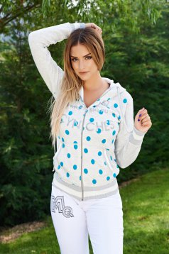 Jacheta MissQ Sporty Dots Grey